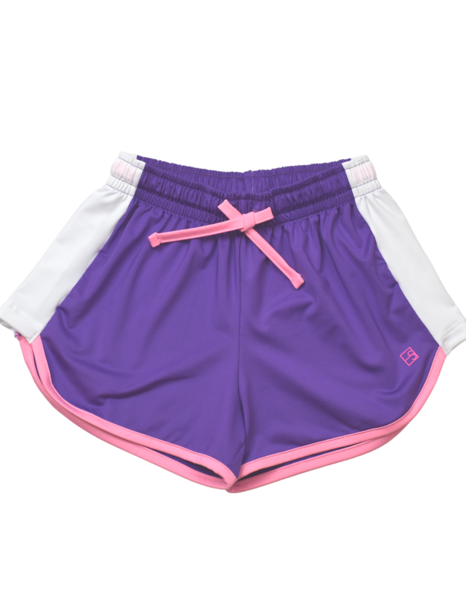 SET Annie Short - Purple with White Sides
