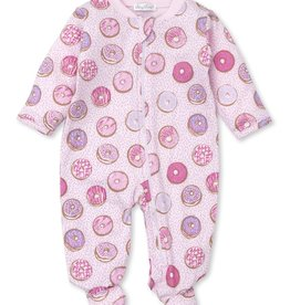Kissy Kissy Pink Donuts Zipper Footie