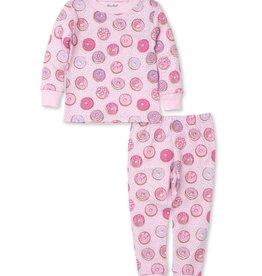 Kissy Kissy Pink Donuts Pajama Set