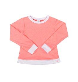 SET Selena Sweatshirt - Pink/White Cuffs