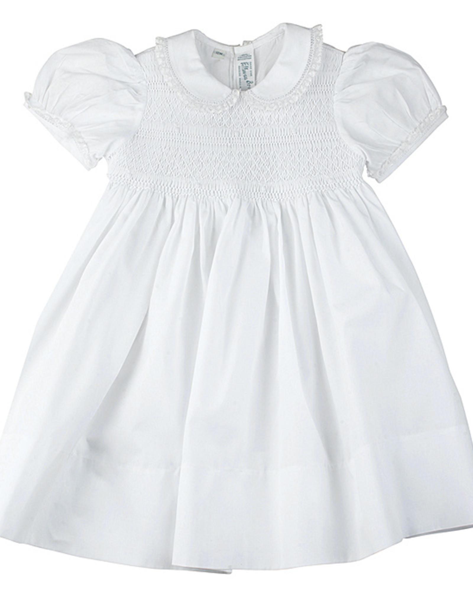 Feltman Brothers Girls Lacy Smocked Dress