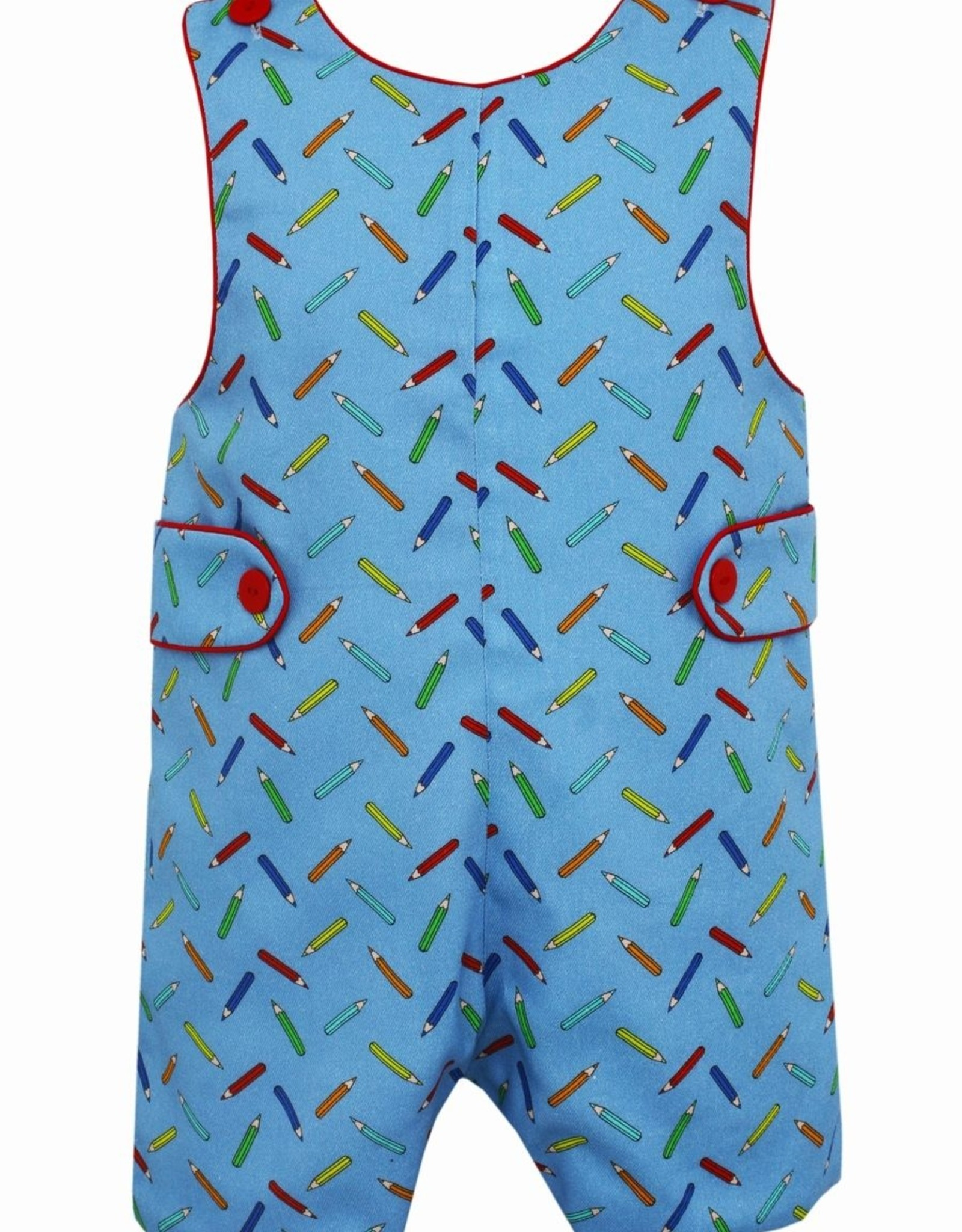 Claire and Charlie Color Pencil Print Shortall