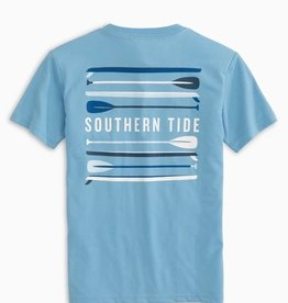 Southern Tide Paddleboard Stack Tee Ocean Channel