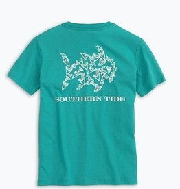 Southern Tide Shark Tooth Tee Gulf Stream