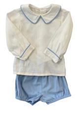 Remember Nguyen Blue Earl Corduroy Short Set