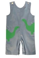 Funtasia Too Light Blue Corduroy Dinosaur Longall