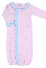 Magnolia Baby Celeste's Classics Emb Ruffle Front Converter, Pink