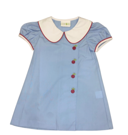 Zuccini Mary Jane Apple Button Dress