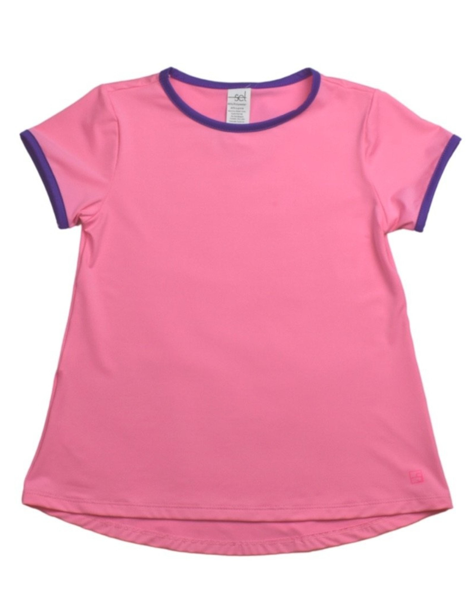 SET Bridget Basic T - Pink/Purple