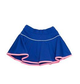 SET Quinn Skort Royal w/ Pink Shorts & Welting