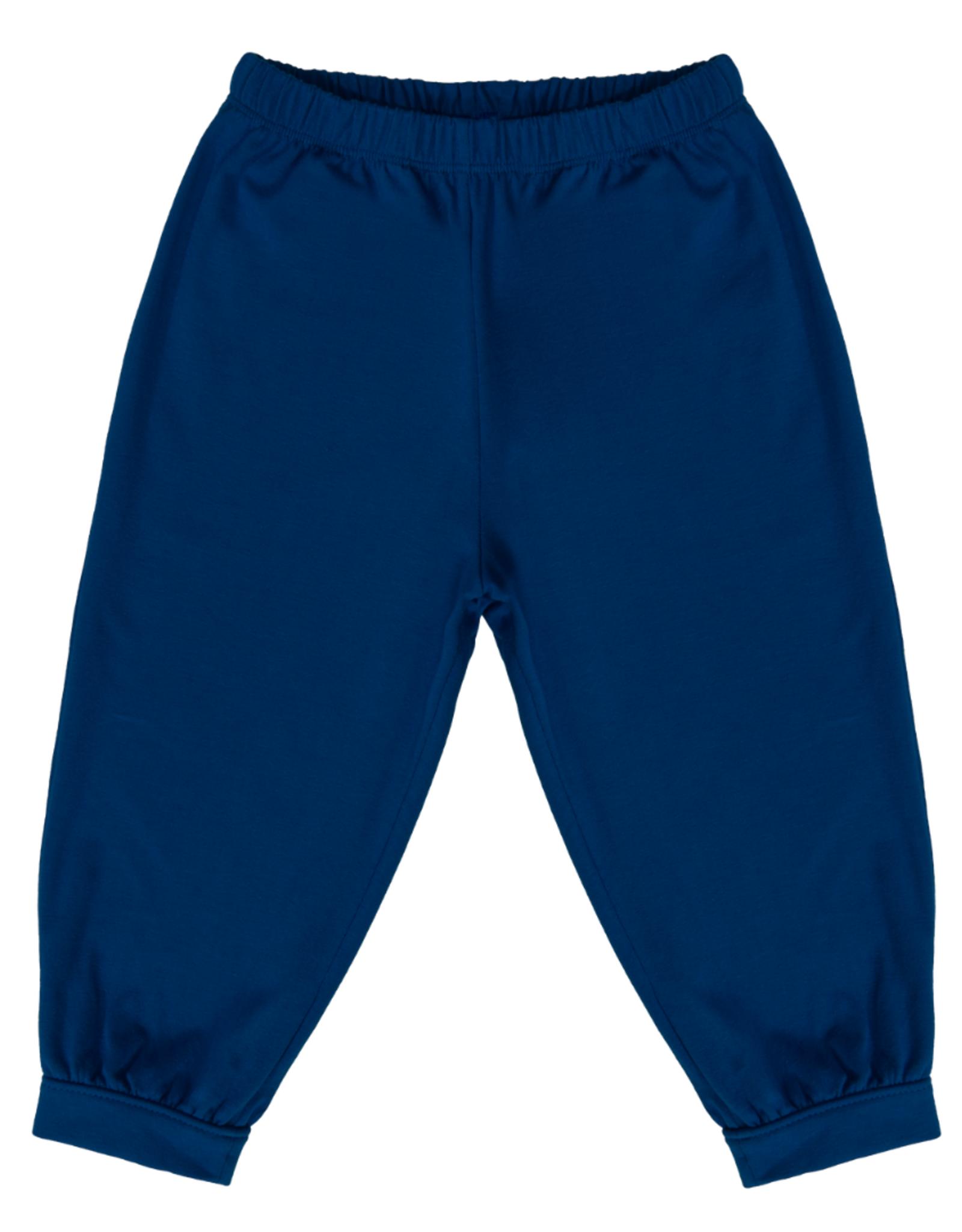SET Beloved Banded Pant - Navy Knit
