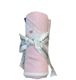 Magnolia Baby Layla And Lennox Smocked Receiving Blanket