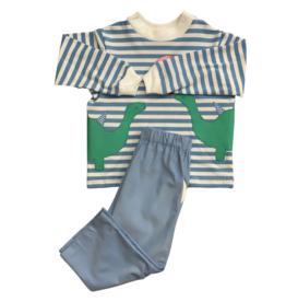 Funtasia Too Stripe Long Sleeve Dinosaur Corduroy Pant Set