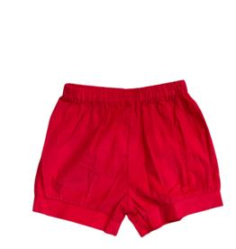 Remember Nguyen Red Benjamin Banded Shorts