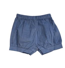 Remember Nguyen Steel Blue Benjamin Banded Shorts