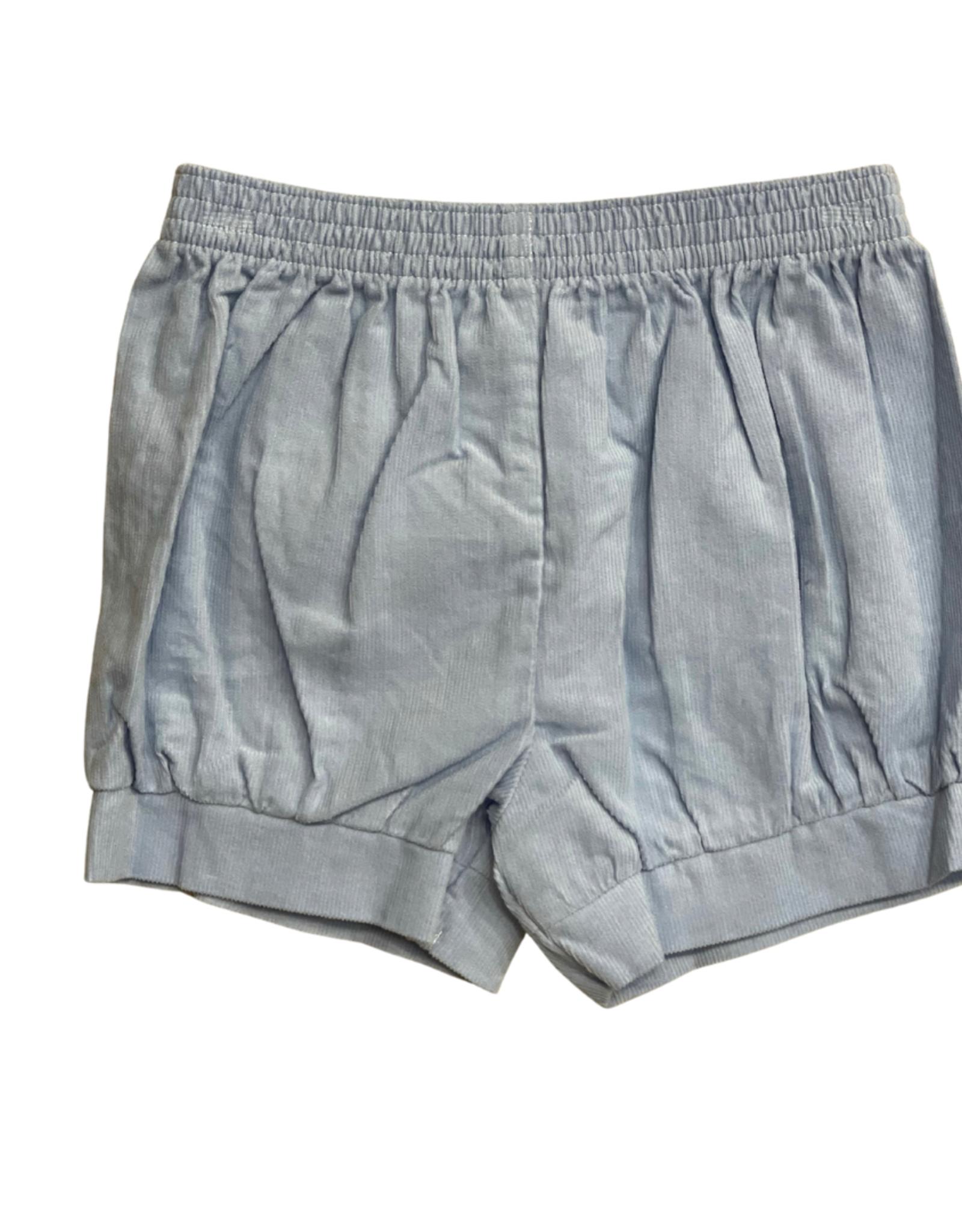 Remember Nguyen Baby Blue Benjamin Banded Shorts