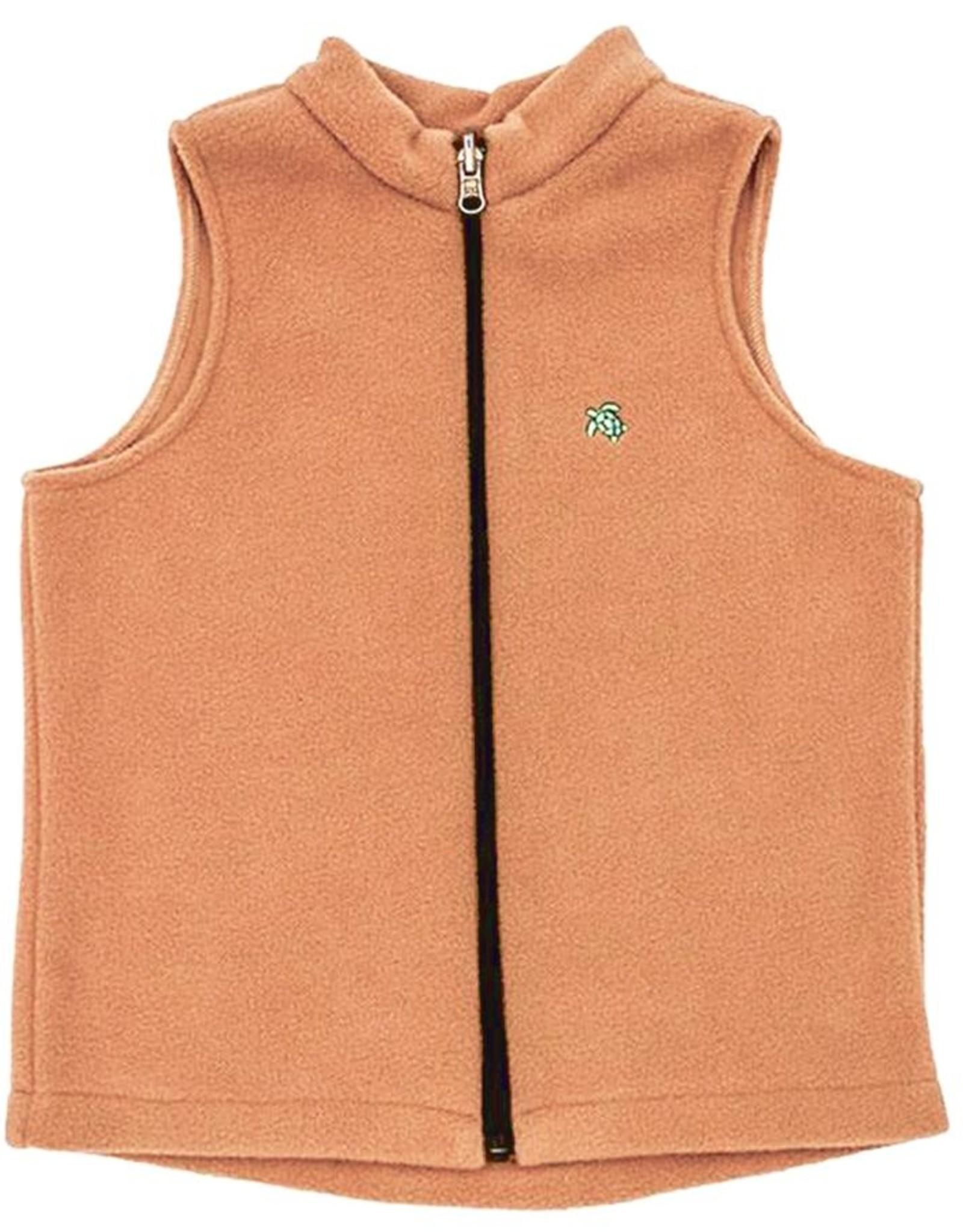 The Bailey Boys Mills Fleece Vest, Camel