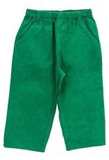 The Bailey Boys Kelly Green Cord Elastic Pants