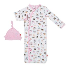 Magnetic Me Cake My Day Modal Magnetic Sack Gown & Hat