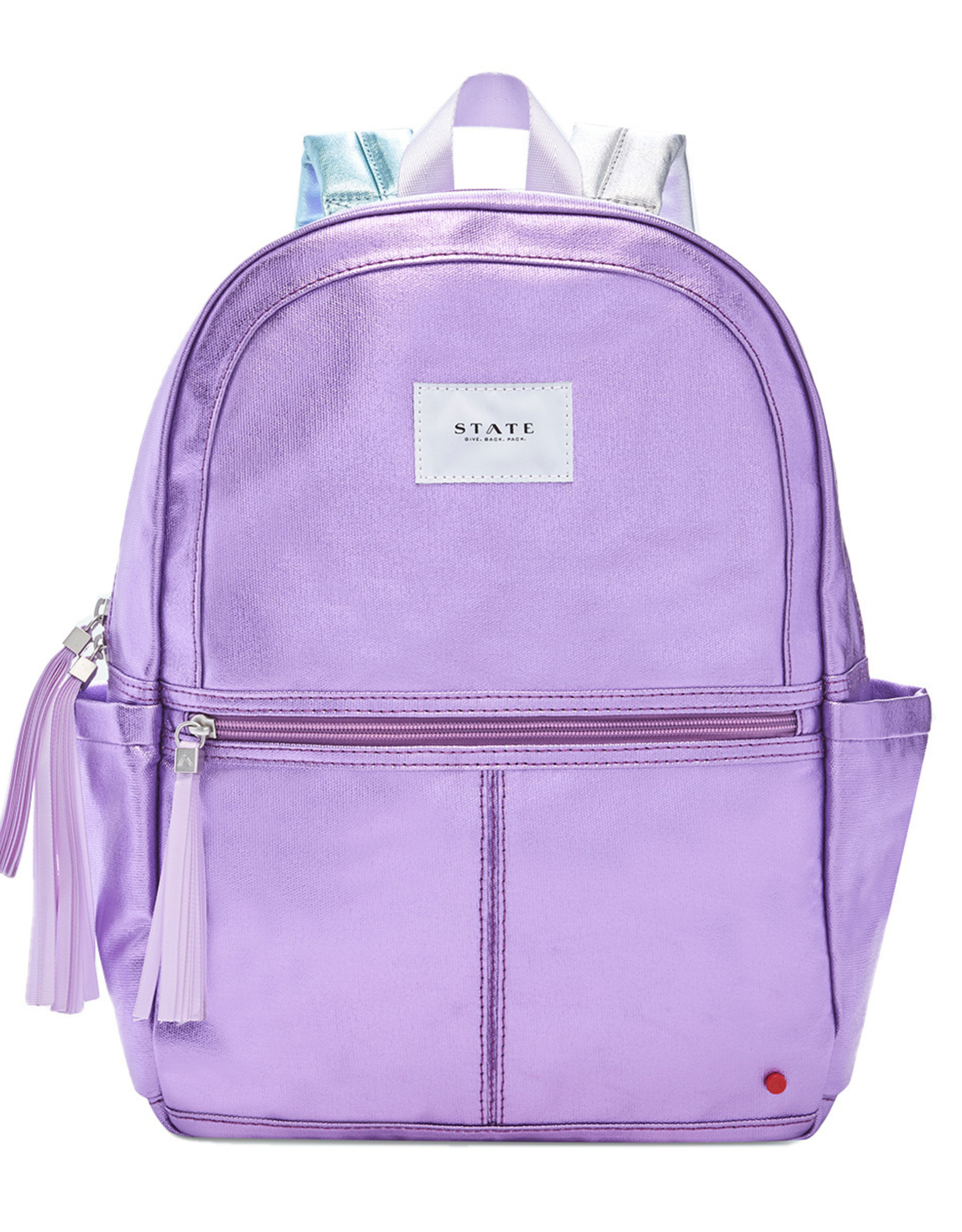 STATE Kane Kids Backpack - Purple Multi Metallic