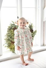 James and Lottie Janey Dress with Christmas Trees