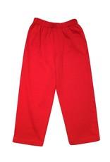 Luigi Jersey Solid Straight Pants