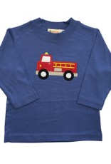 Luigi Long Sleeve Tee Fire Truck Chambray