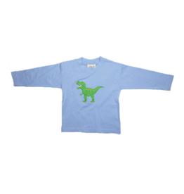 Luigi Boys Long Sleeve  T-Rex Sky Blue