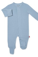 Magnetic Me Cool Blue Solid Modal Magnetic Footie