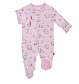 Magnetic Me Pink Love You A Ton Modal Magnetic Footie
