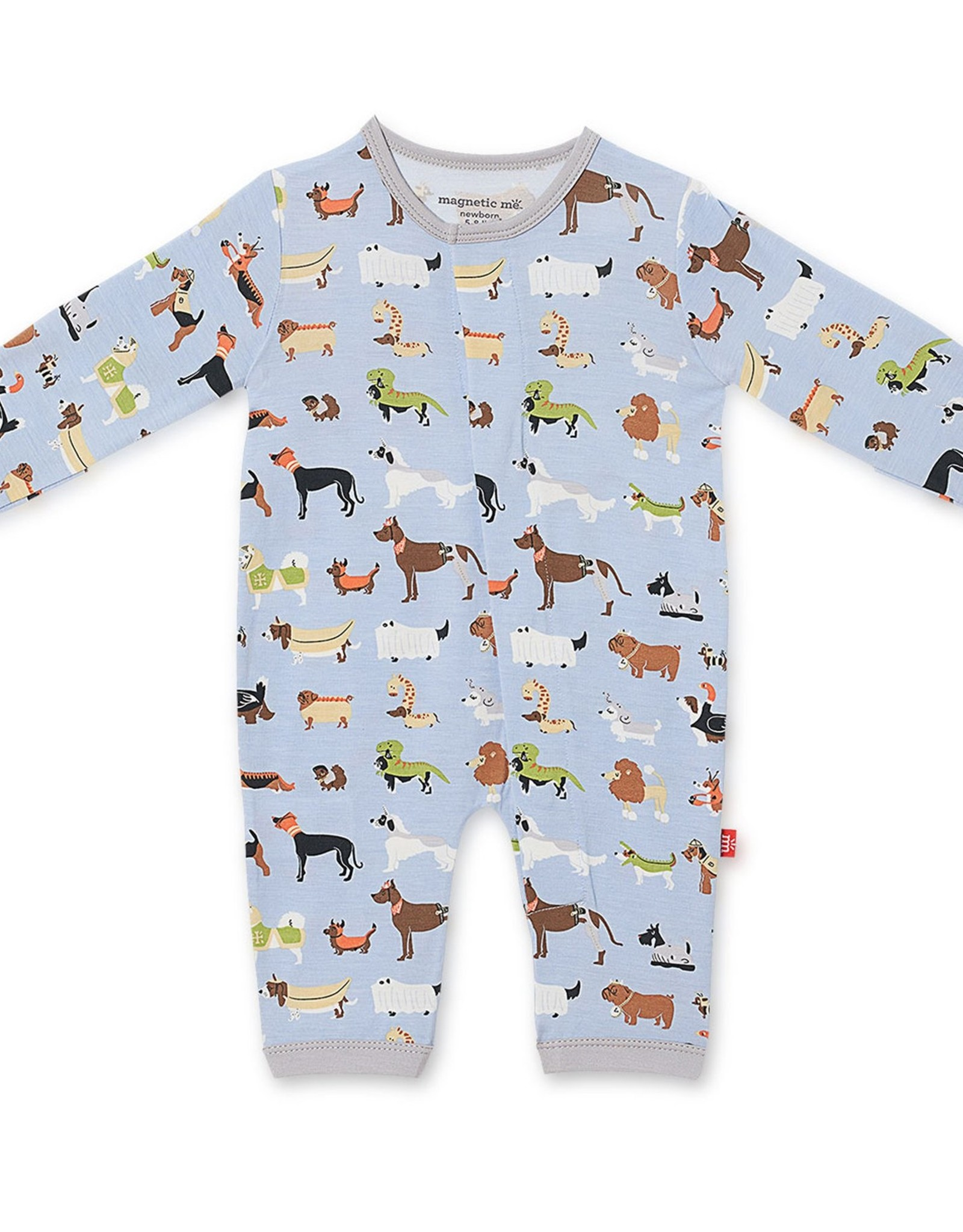 Magnetic Me In-Dognito II Modal Magnetic Coverall