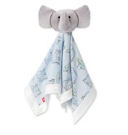 Magnetic Me Blue Love You A Ton Modal Elephant Lovey Blanket