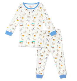 Magnetic Me Howlarious Organic Cotton Magnetic Toddler PJs