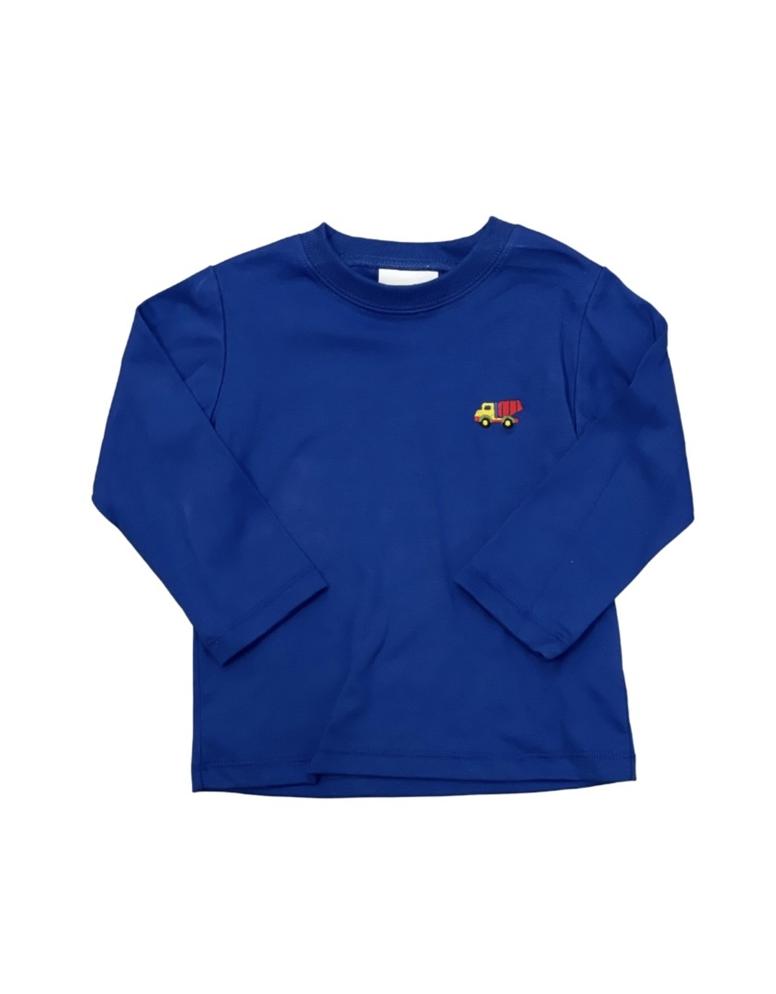 Zuccini Harry's Tee Embroidered Construction Royal