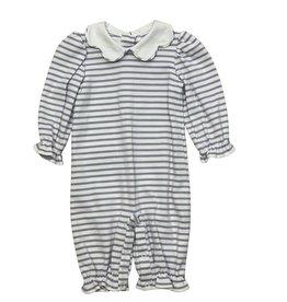 Zuccini Bryar Bubble Knit Lavender Stripe