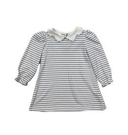 Zuccini Bryar Dress Knit Lavender Stripe