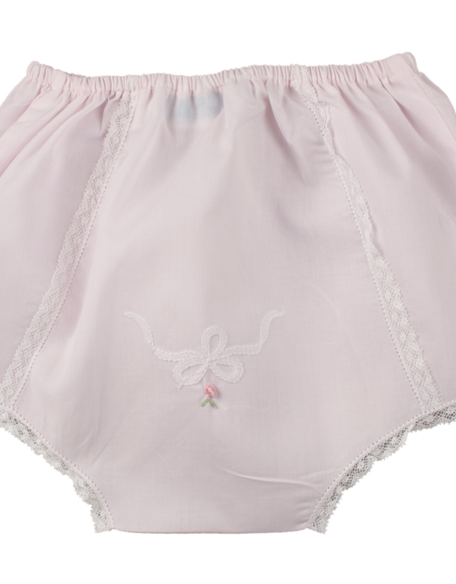Feltman Brothers Vintage Bow Collection Diaper Cover Pink 6/9M