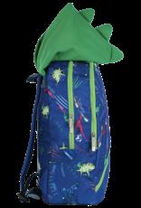 Iscream Dinosaur Tracks Glow Backpack