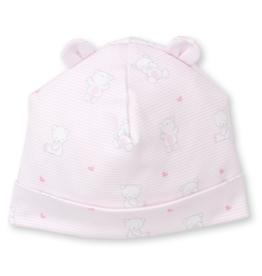 Kissy Kissy Pink Bear Hugs Hat