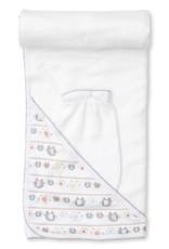 Kissy Kissy Elephant Echelon Hooded Towel w/ Mitt Set