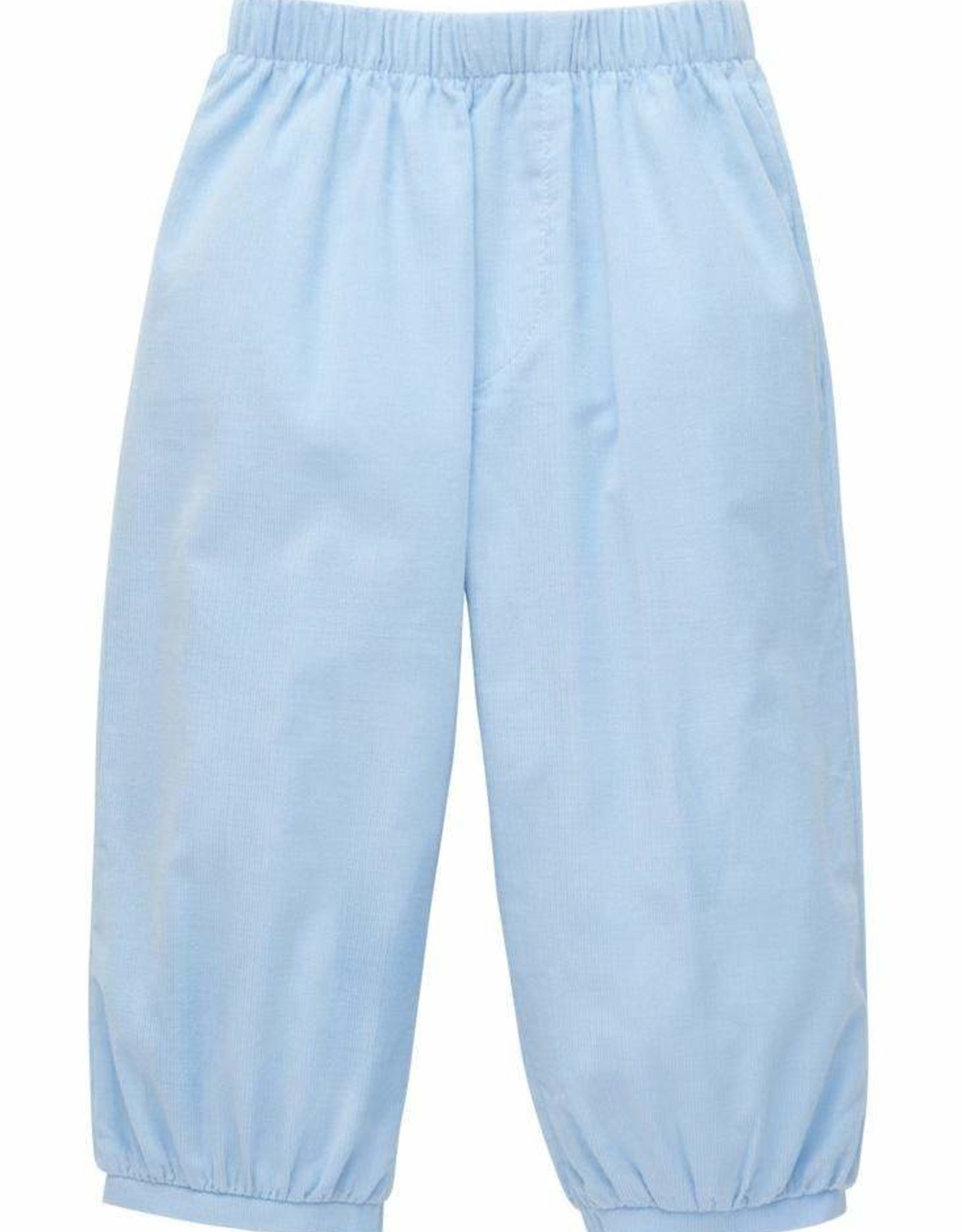 Little English Banded Pull On Pant Light Blue