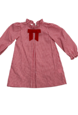 Zuccini Bobby Sue Dress Woven Red Plaid
