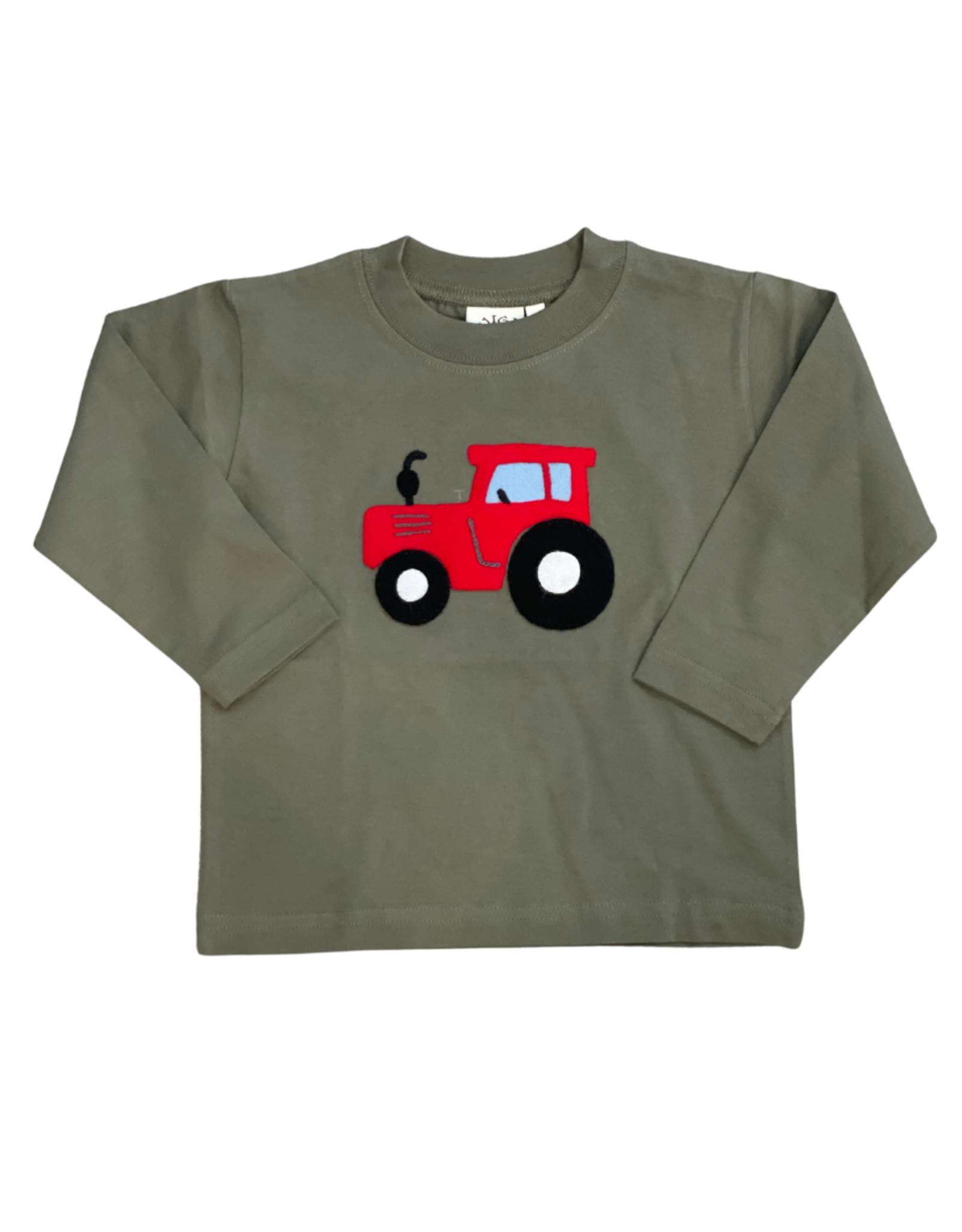 Luigi Long Sleeve Tee Tractor Military