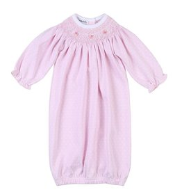 Magnolia Baby Layla And Lennox Bishop Gown Pink