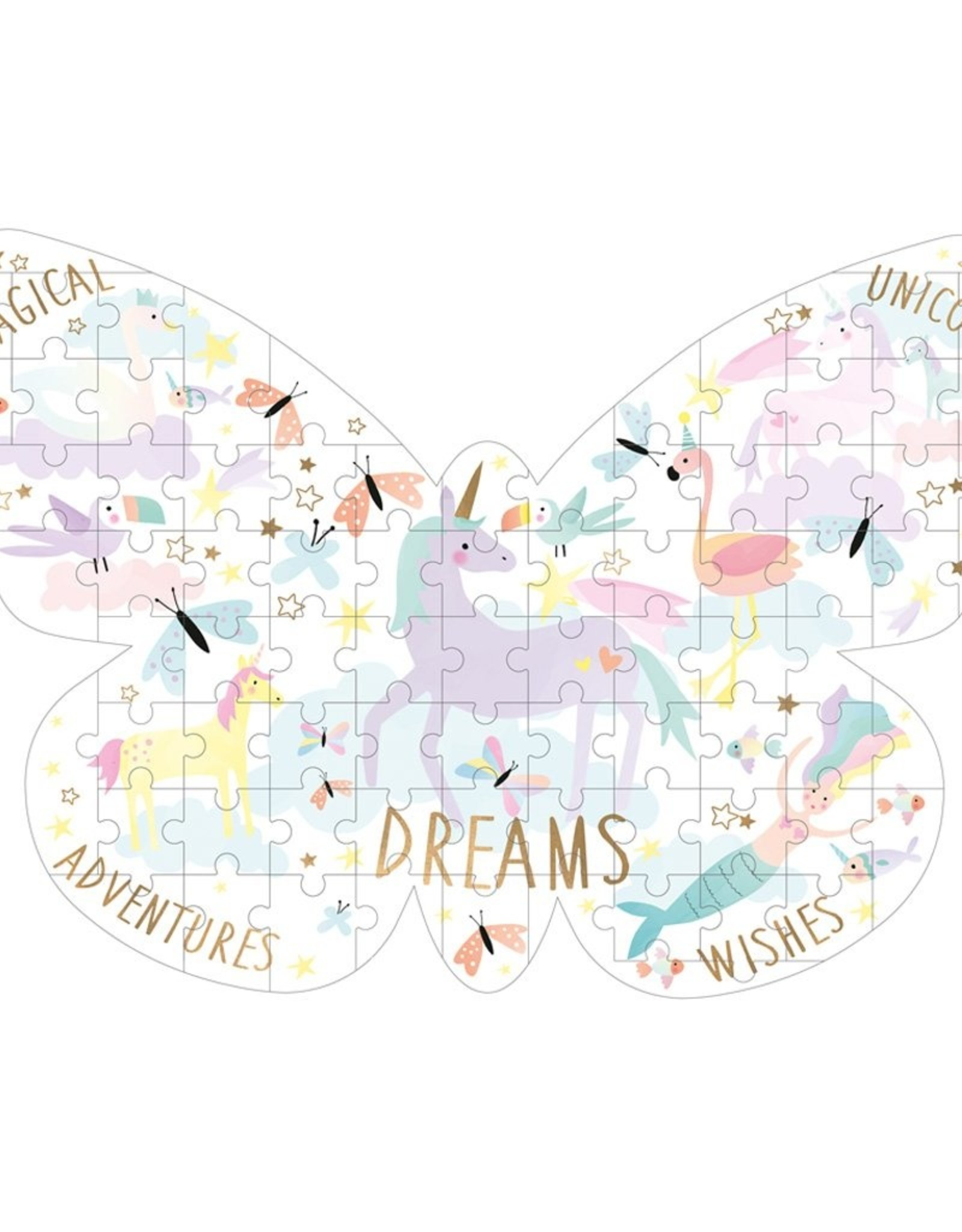 Floss & Rock Fantasy Butterfly Jigsaw Puzzle 80pc