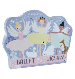 Floss & Rock Theate Shaped Jigsaw Puzzle Enchanted 80pc