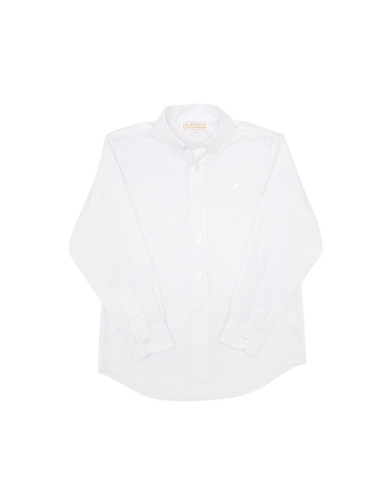 The Beaufort Bonnet Company Deans List Dress Shirt, Worth Avenue White