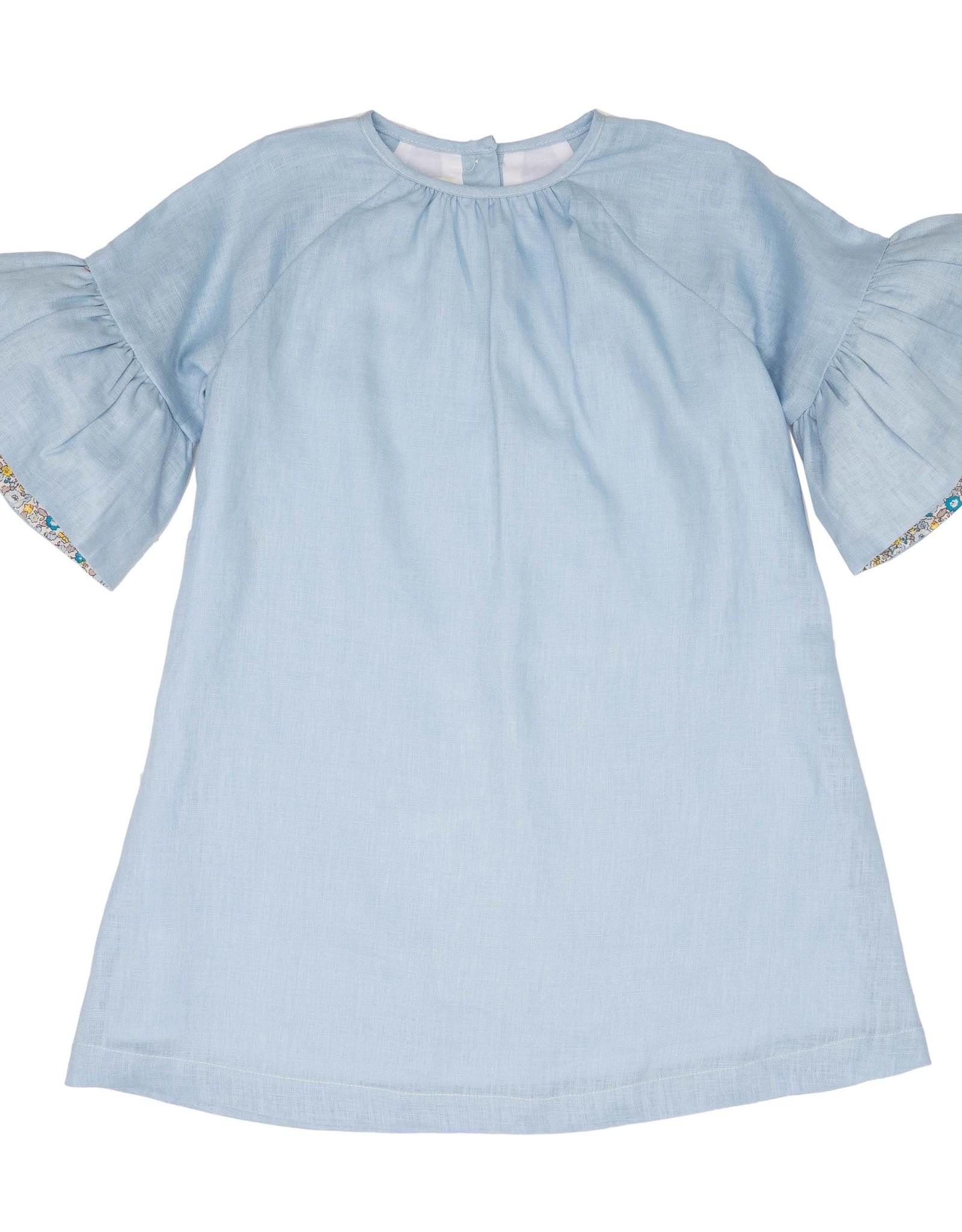 The Oaks Collette Blue Dress