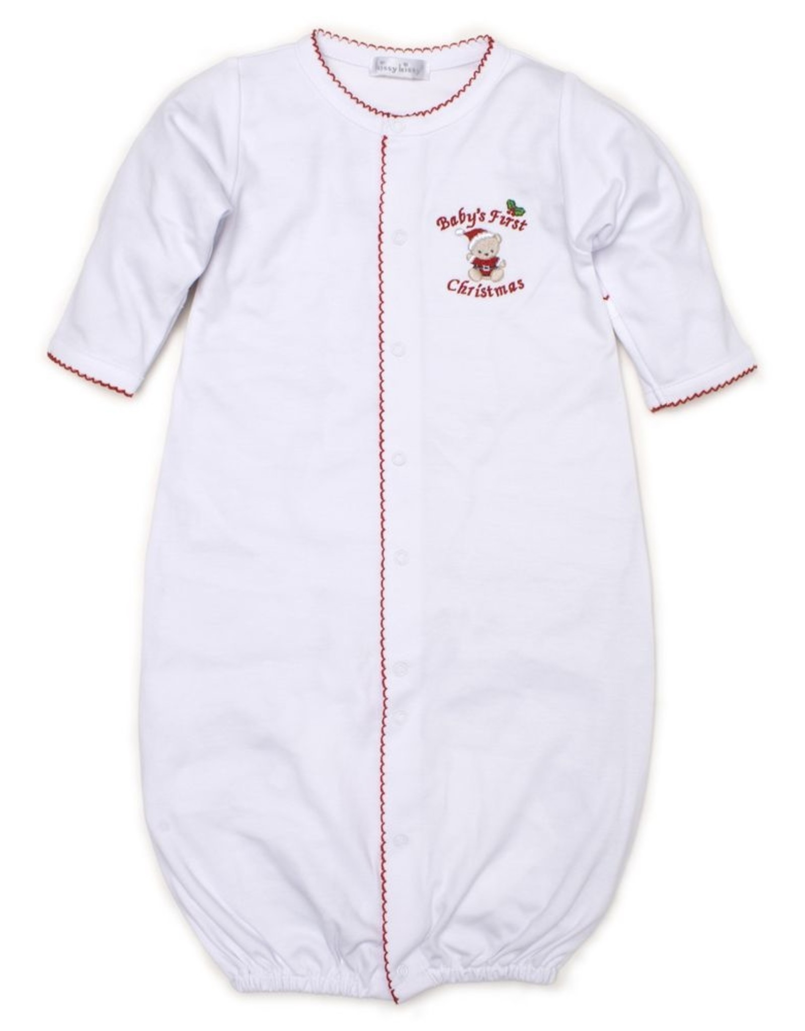 Kissy Kissy Baby's First Christmas Converter Gown