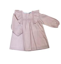 Babidu Long Sleeve Pink Dress 91354